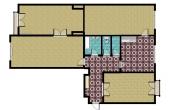 2761, Veľkometrážny tehlový 4 izbový byt s výhľadom na hrad v CENTRE